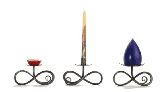Infinity Candle Holders